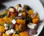 roasted fall salad