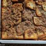 brunch, part one: cinnamon streusel french toast