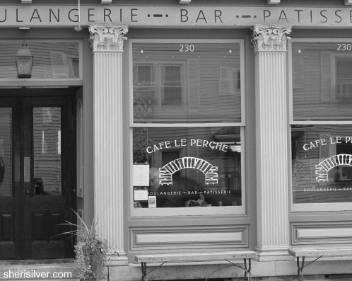 cafe le perche, hudson, new york
