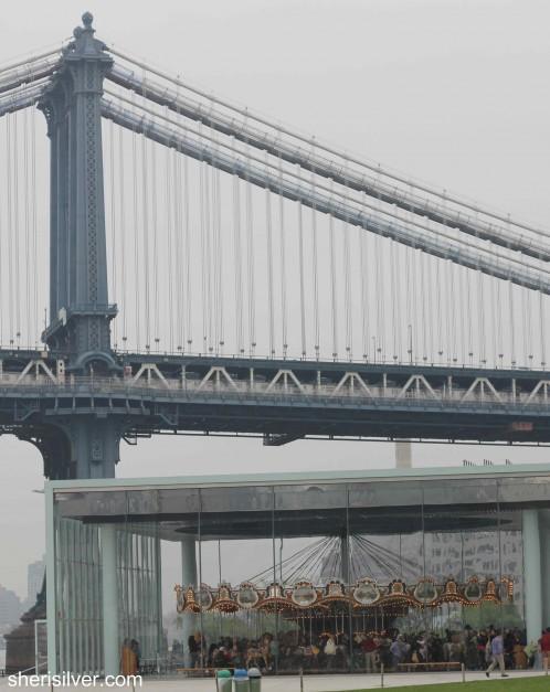 jane's carousel, manhattan bridge