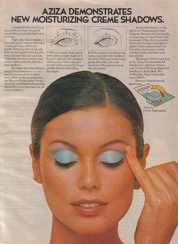vintage 70's aziza ad