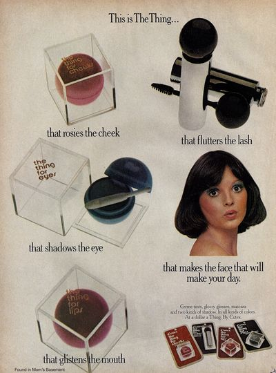 vintage 70's cutex ad