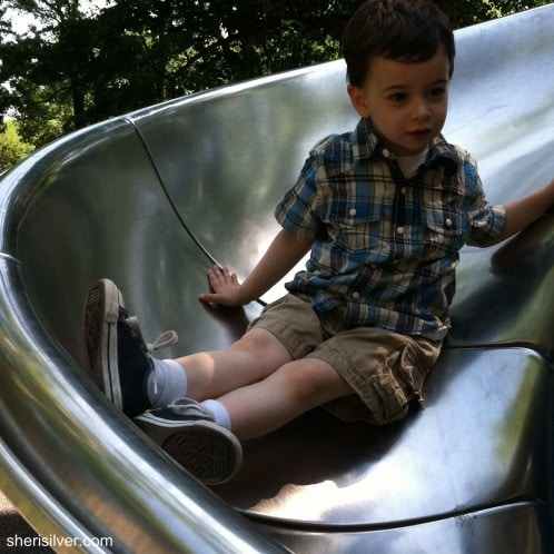tot playground, central park
