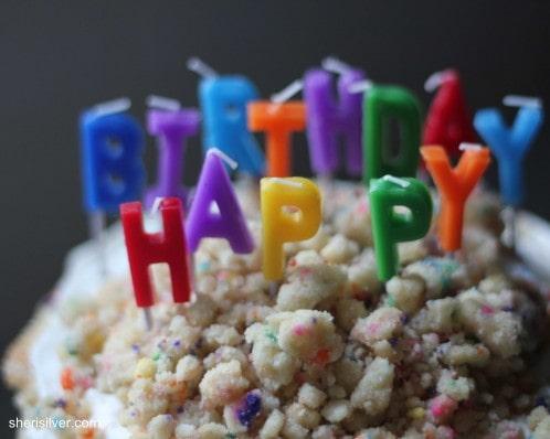 birthday layer cake, milk bar