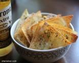 salty-sweet pistachio crisps