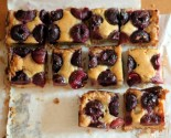 to market: cherry brown butter bars