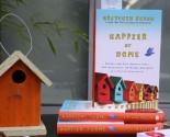 """happier at home"" book launch party (and a giveaway!) – closed"