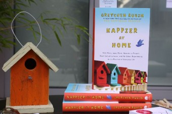 happier at home book launch party