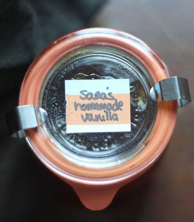 sara's homemade vanilla