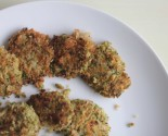 "dairy free: ""cheezy"" broccoli fritters"