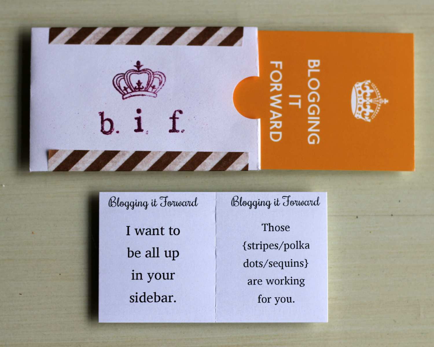 the business cards of alt
