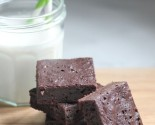 sugar (and guilt) free: double chocolate brownies