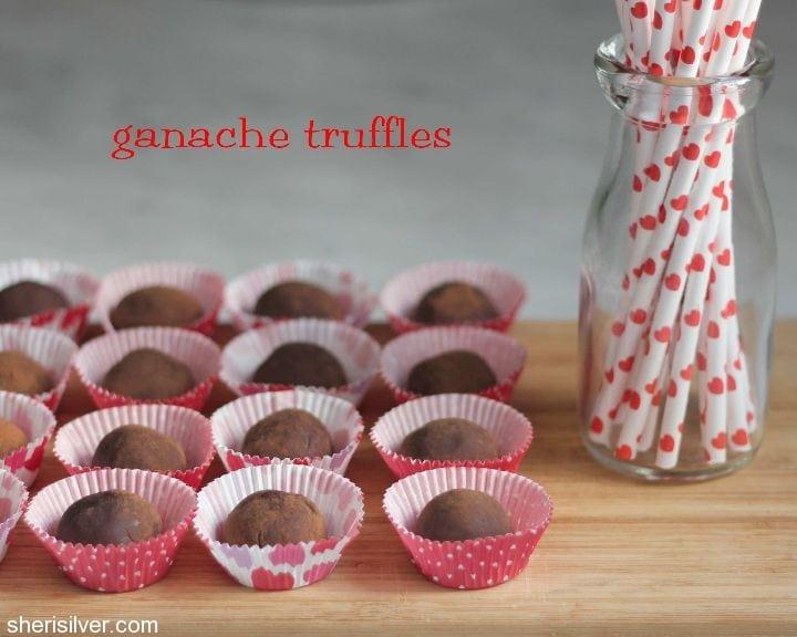 ganache truffles