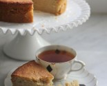 sugar free: honey lemon cake