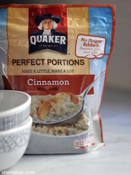 quaker oats perfect portions