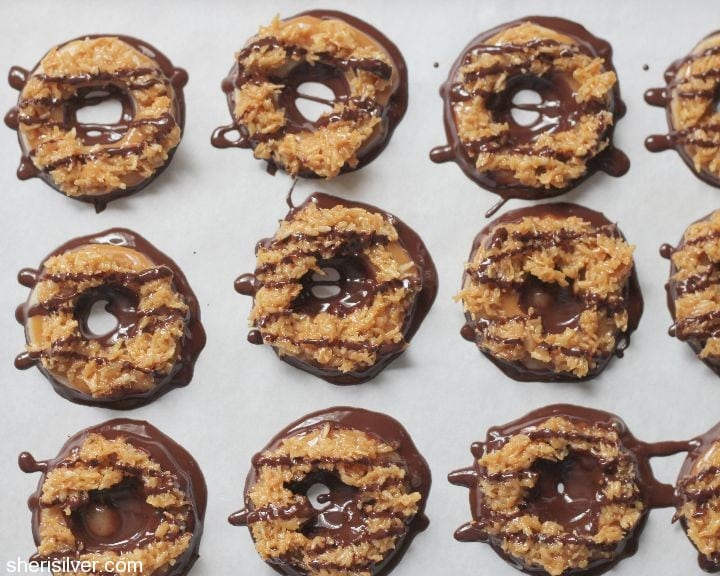 girl scout samoa cookies