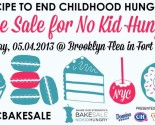NYC Bake Sale, No Kid Hungry