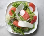 salad with grapefruit fennel parmesan