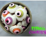 "halloween ""in the house"" – eyeball cookies"