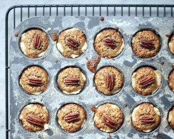 mini pecan pie cups