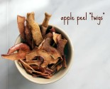 apple peel twigs