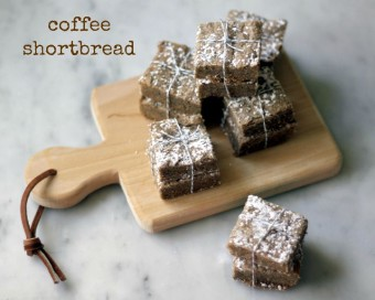 coffee shortbread