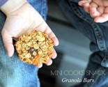 """mini cooks"" snack - granola bars!"