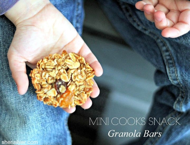 mini cooks granola bars