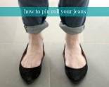 101: how to pin roll your jeans