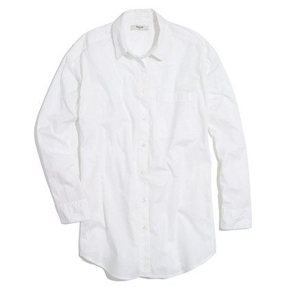 madewell white shirt
