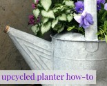 how to make an upcycled planter (out of anything!)