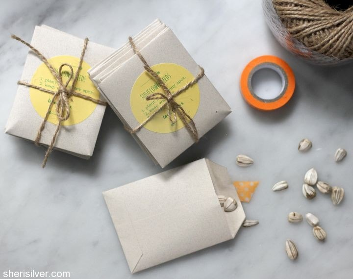 handmade seed packets
