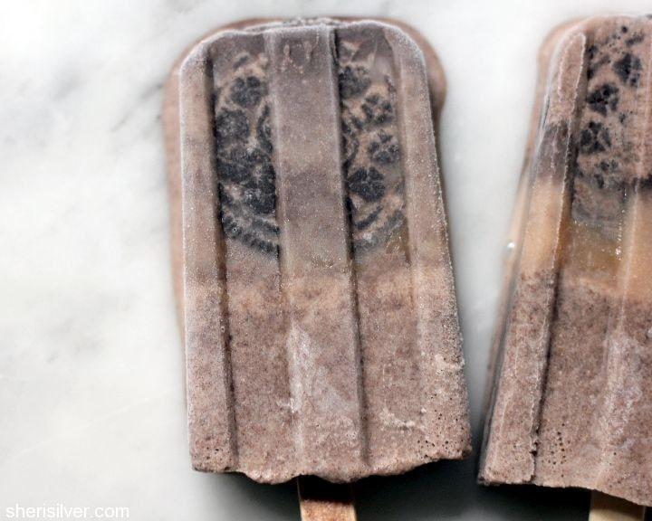 oreo milkshake pops