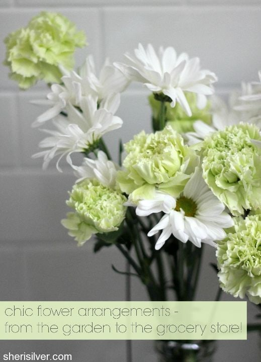 chic flower arrangments