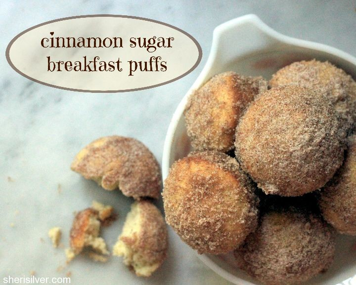 Cinnamon Sugar Breakfast Puffs Recipe — Dishmaps