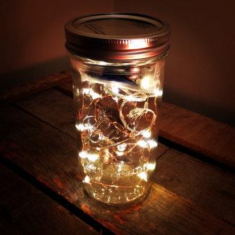 stonehill design LED mason jar