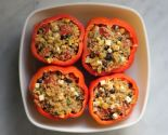 """keen"" on quinoa: stuffed peppers"