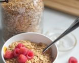 """keen"" on quinoa: toasted coconut quinoa & oats cereal"