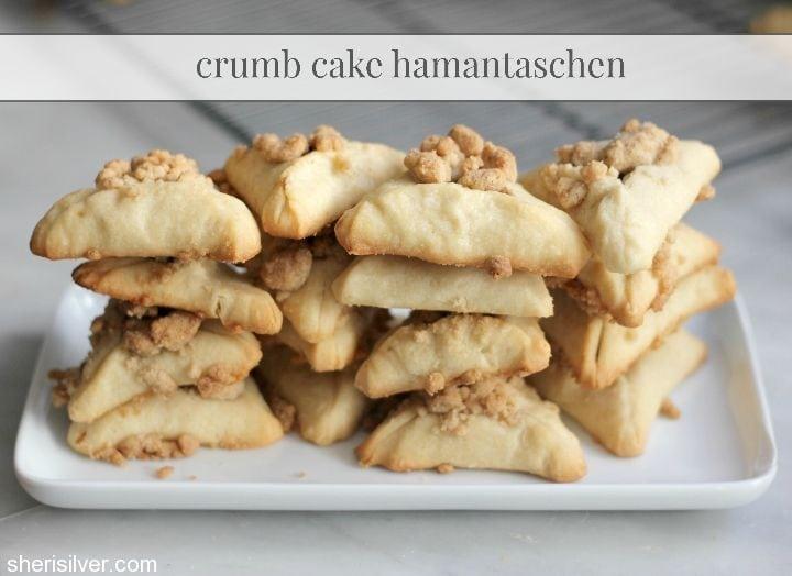 crumb cake hamantaschen