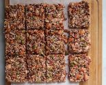 """keen"" on quinoa: nut and cherry bars"