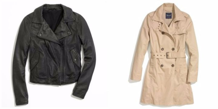 AM15 capsule wardrobe jackets