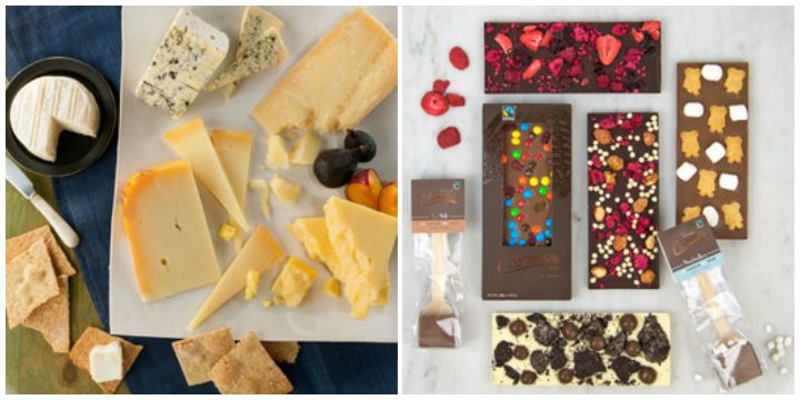 foodydirect cheese chocolate