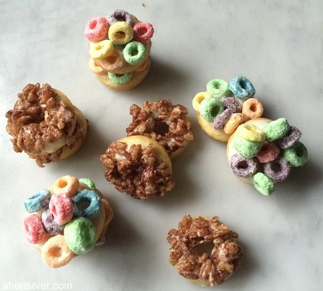 cereal doughnuts