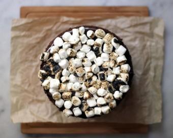 Milk Bar Chocolate Malt Cake l sherisilver.com