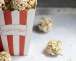 balls, bites & bars: popcorn energy bites