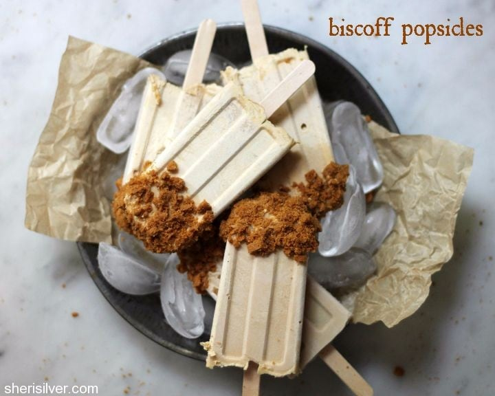 biscoff popsicles