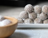 balls, bites & bars: coconut-almond butter energy bites