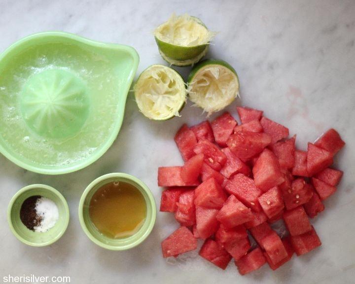 watermelon chili lime pops