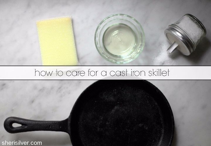 cast iron skillet care