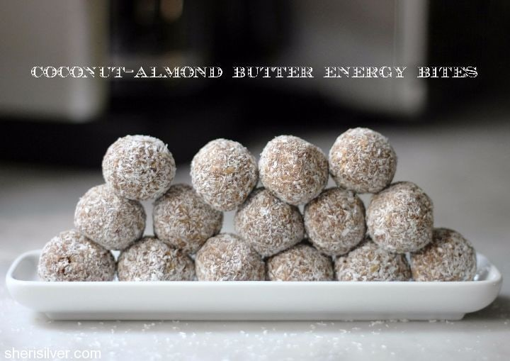 coconut-almond butter energy bites